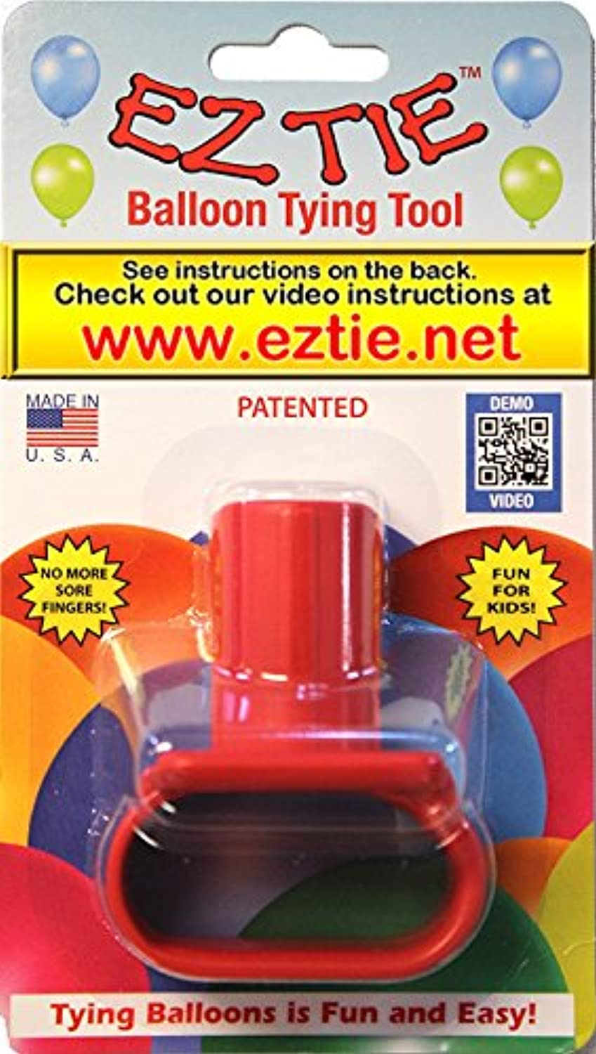EZ Tie - Balloon Tying Tool for Party Balloons- Partys Supplies - Works for Helium Balloons with Ribbon - Makes Balloon Arches by EZ Tie