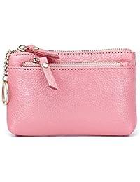 多機能大容量ジッパーゼロハンドバッグ、ピンク