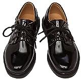 (クアド)KUADO フォーマル キッズ 子供 シューズ 靴 エナメル 光沢 オックスフォード 入学式 卒業式 結婚式 (01:21.0)