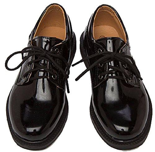 (クアド)KUADO フォーマル キッズ 子供 シューズ 靴 エナメル 光沢 オックスフォード 入学式 卒業式 結婚式 (08:24.5)