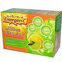 ビタミンC(1000mg) ドリンクミックス レモンライム味 (30パック入り) Vitamin C Fizzy Drink Mix (Lemon Lime)  30-Packets (海外直送品)