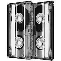 CaseMarket 手帳型 apple iPhone 6s (4.7inch) iPhone6s Mono Cassette Tape モノクロ ダイアリー 2214-77 スマホケース 全機種対応 薄型 軽量 ストラップホール