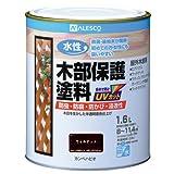 カンペハピオ 水性木部保護塗料 ウォルナット 1.6Lの写真