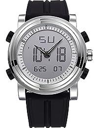腕時計 メンズ ファション 海外人気ブランド デジアナ スポーツ おしゃれ クロノグラフ LED アウトドア[日本語説明書付き] [並行輸入品]
