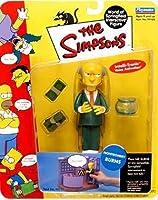 Playmates - The Simpsons - World of Springfield Interactive Figures - Series 1 - Montgomery Burns figure w/custom accessories by Playmates/The Simpsons