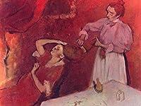 Lais Puzzle Edgar Germain Hilaire Degas - 髪をとかすとき 200 部