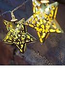 yasushoji 照明 LED ランプ カンテラ かわいい 飾り ストリング ライト イルミネーション スター 星 (タイプC)