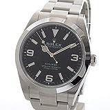 [ロレックス]ROLEX 腕時計 エクスプローラー1 214270 ランダム 中古[1297761] 付属:国際保証書 ブラックアラビア ランダム