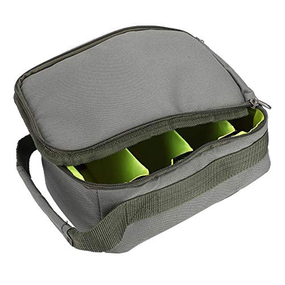 積極的に地下鉄とても釣り道具バッグ 柔らかい ポータブル 耐久性のある 防水性 釣り収納ケース アーミーグリーン
