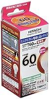 日立 LED電球 (明るさの目安小型電球60W相当) 760lm 電球色相当 6.9W E17口金 LDA7L-H-E17/S/60C
