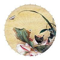 中国古典スタイル33-inchパラソルanti-rain用紙傘、10号
