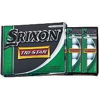DUNLOP(ダンロップ) ゴルフボール スリクソン TRI-STAR トライスター 1ダース 12個入