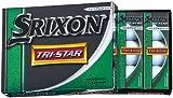 DUNLOP(ダンロップ) ゴルフボール SRIXON スリクソン トライスター TRI-STAR プレミアムホワイト 12P