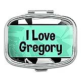 グレゴリー I 愛ハート名 - グレゴリー - 長方形ピルボックス