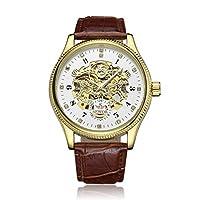 SJXIN 美しい機械式時計 SEWOR / 820自動機械式メンズ腕時計中空メンズ腕時計メンズ腕時計 (Color : 4)