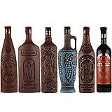 赤ワインセット ジョージアワイン6本セット グルジアワイン クヴェヴリ ユネスコ無形文化遺産登録ワイン 750mlx6本