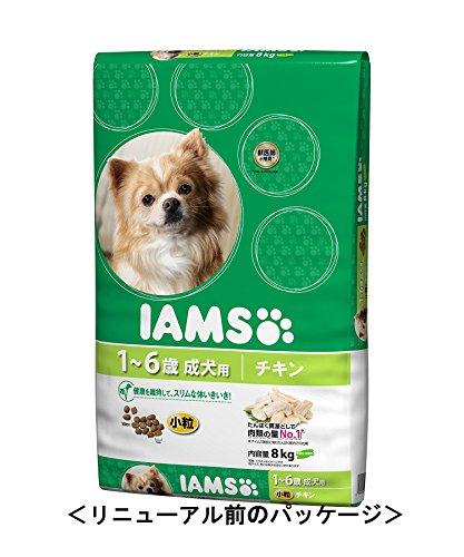 アイムス (IAMS) 成犬用 健康維持用チキン 小粒 8kg [ドッグフード]