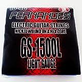 FERNANDES フェルナンデス エレキギター弦 エクストラライトゲージ 010-046 【3セットパック】 GS1500L NI