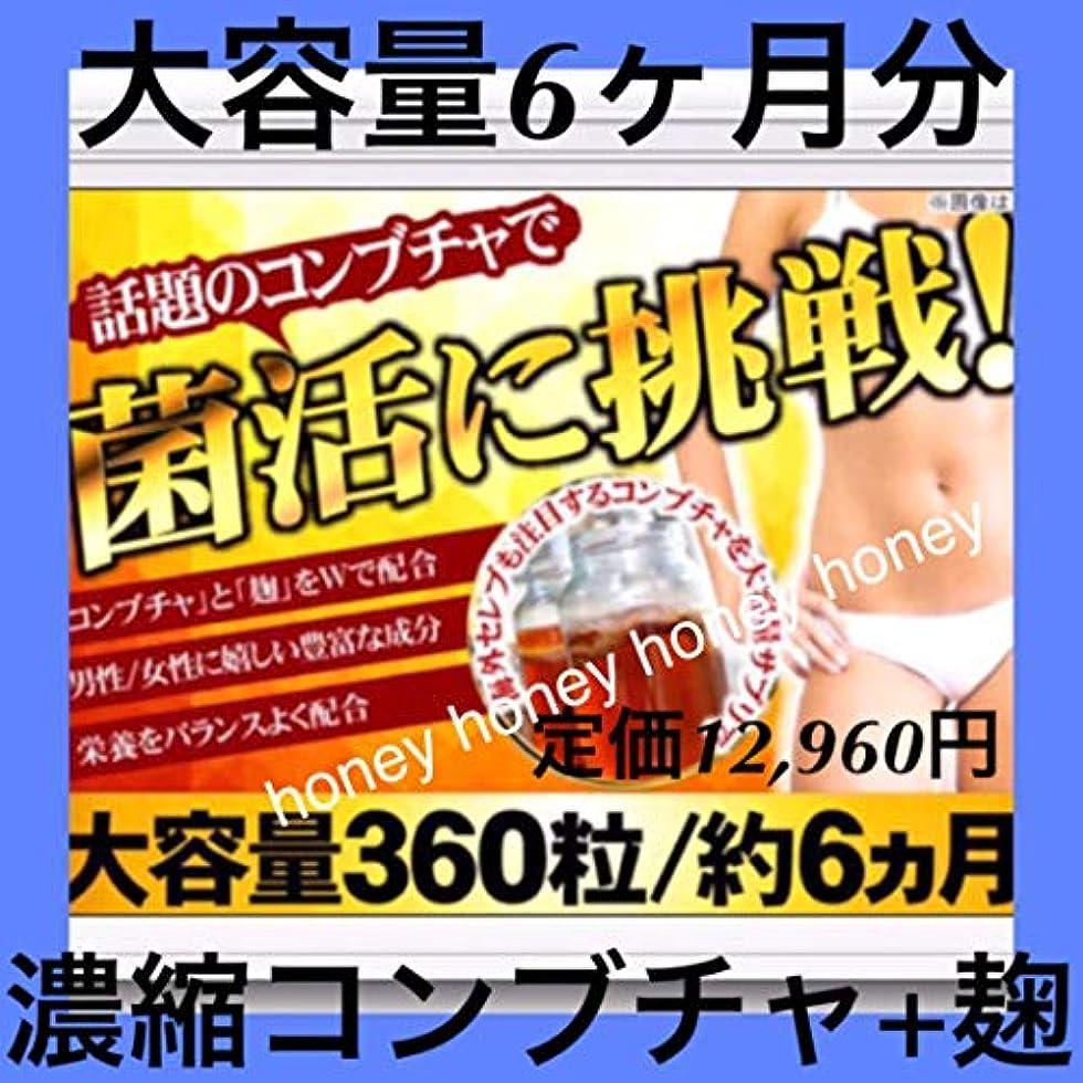 異議訴える離す大容量6ヶ月定価12,960円??濃縮コンブチャ菌活スリム ダイエット??