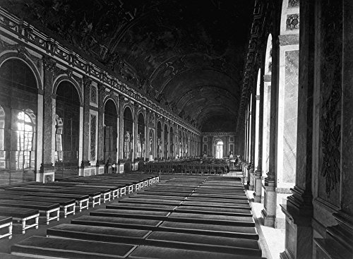 ラミネート加工ポスターヴェルサイユ条約フランス世界大戦1918ポスタープリント24x 36