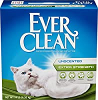 Ever Clean Extra Strength Cat Litter, Unscented, 14-Pound Box by Ever Clean