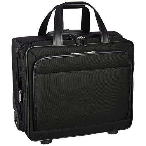 [エースジーン] ビジネスキャリーケース  EVL3.0TR 2輪 PC対応 エキスパンド 機内持込可  32L 36cm 3.9kg 59531 01 ブラック