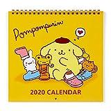 サンリオ(SANRIO) ポムポムプリン ウォールカレンダーM 2020