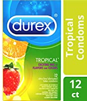 DUREX CONDOM TROPICAL FLAVORS 12 PACK by Alfred Sung