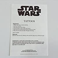 Star Wars Tattoos Pack of 24 Temporary Removable Transfers