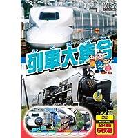 列車大集合 新幹線 JR特急 私鉄特急 SL 汽車 トロッコ列車 通勤電車 DVD6枚組 6KID-2003