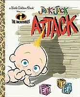 Jack-Jack Attack (Disney/Pixar The Incredibles) (Little Golden Book)