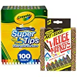 Crayola 100Count Super Tips Washable Markers