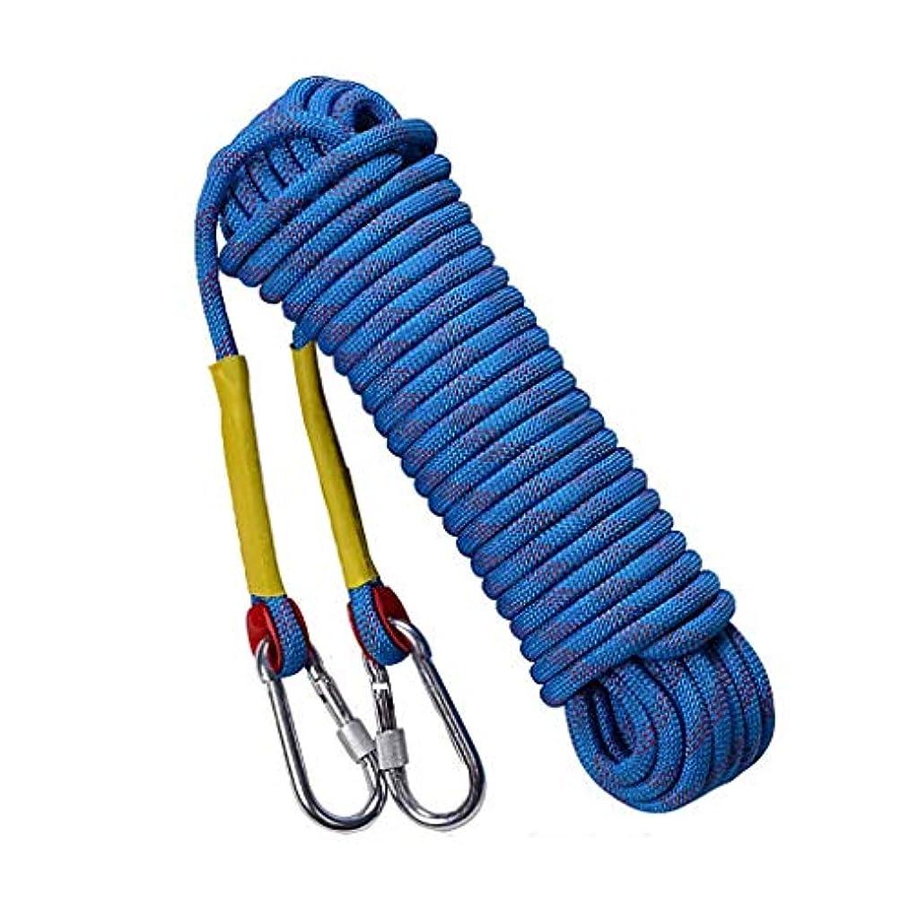 ライラック薬理学怒ってロープ屋外クライミングロープ、14/12 mm安全ロープクライミングロープロープクライミングロープナイロンロープ脱出装置、50メートル/ 30メートル/ 20メートル/ 15メートル/ 10メートル(サイズ:12ミリメートル - 20メートル)