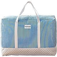 布団収納ケース 大容量 衣類袋 整理 片づけ 引越し 丈夫な 収納ボックス (M)