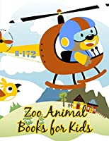 Zoo Animal Books For Kids: Adorable Animal Designs,funny coloring pages for kids, children (Happy Kids)