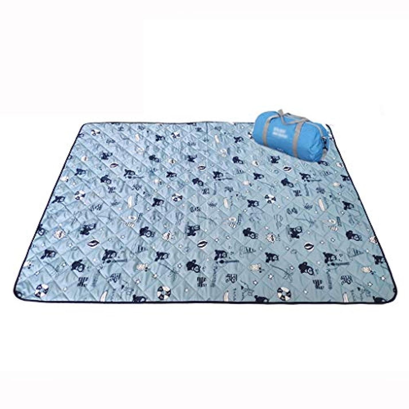 既婚湿度反動屋外ピクニック毛布折りたたみ式ビーチマットピクニックマット防水サンドプルーフキャンプでハンドル家族の日中、旅行150 * 200 cm