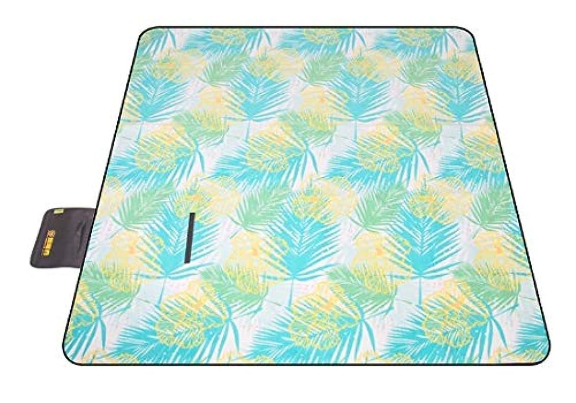 気難しいセクション防衛Chennong 屋外スプリングツアーマット厚いパッド入りピクニックマットピクニックマットマット芝生マットキャンプピクニック布