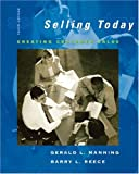 Cover of Selling Today: Creating Customer Value