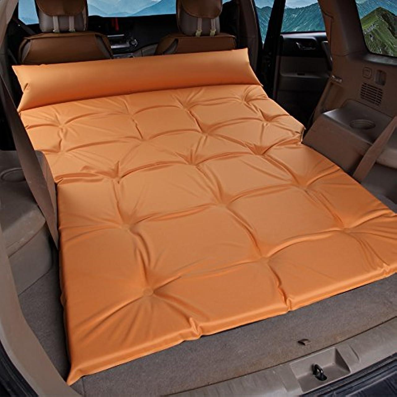 素晴らしさ行商人自体GYP 自動インフレータブルベッドSuvの車のベッド、厚い折り畳み屋外レジャー寝るマット休暇旅行ベッドのマットキャンプキャンプ防湿パッドの自動車用品ポータブル195 * 140センチメートル ( 色 : #2 )
