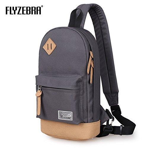 (フライゼブラ) Flyzebra FBK3001 リュック バックパックマザーズバッグ リュック レジャーパッケージ ショルダーバッグ アウトドア (Grey)