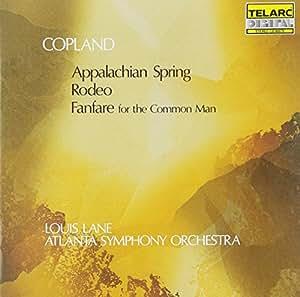 Copland: Fanfare Rodeo & Appalachian Spring