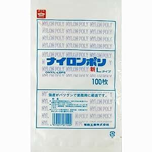 真空袋 ナイロンポリ 新[L]タイプ [17] 規格袋 (100枚) [巾240×長360 (mm)]