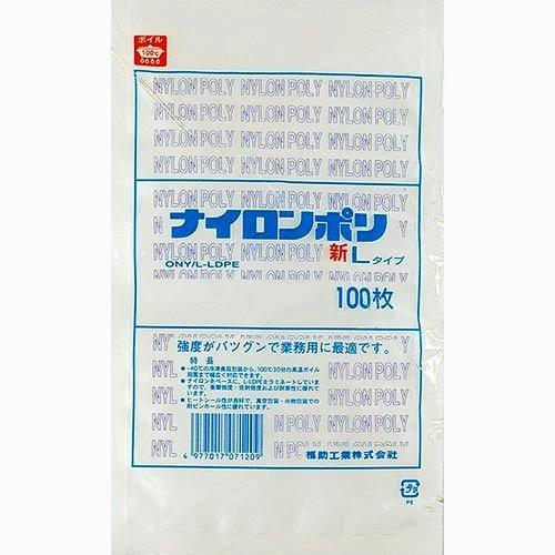 福助 ナイロンポリ新Lタイプ No.18 0707937 1袋 100枚