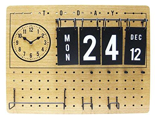 インターフォルム『リドゲート 時計付きペグボード』