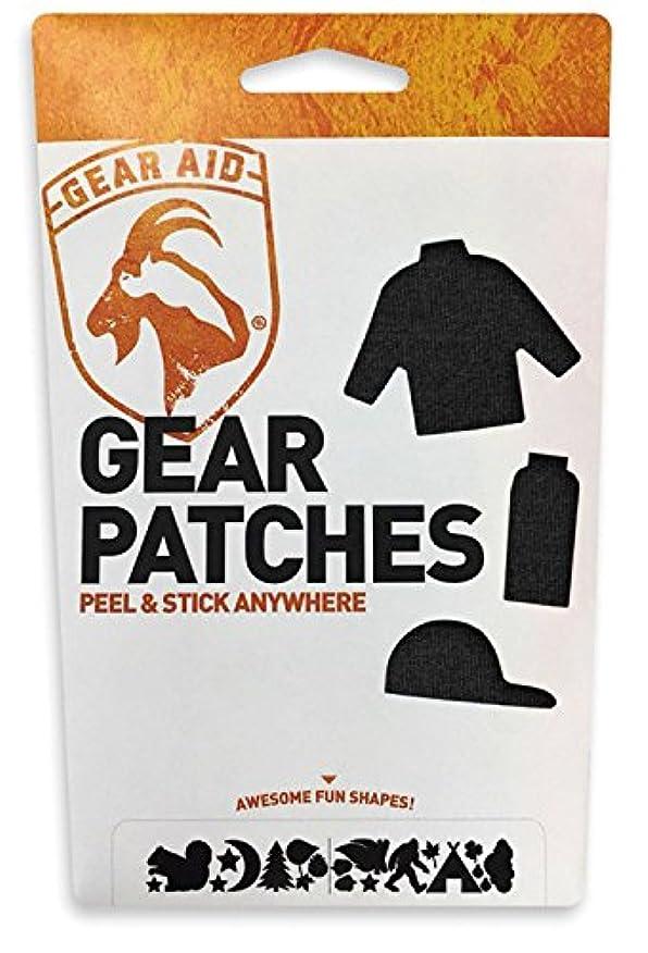 歴史的プレフィックス勧めるGEAR AID(ギア エイド) 補修パッチ テネシアス ギアパッチ ワイルドライフ ブラック 12713