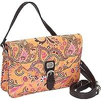 SALE - EMILIE SLOAN MEGAN CLUTCH CROSS BODY BAG (Tangerine) Retail $120