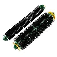 Perfk IRobot Roomba 500用 交換用 真空部品 バキュームブラシ ビーターブラシ ダスト 効果的 除去