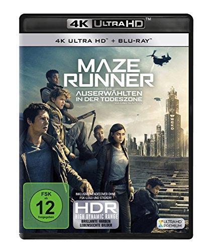 Maze Runner: Die Auserwählten in der Todeszone 4K, 1 UHD-Blu-ray