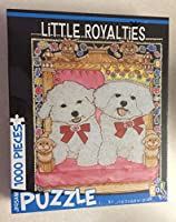 Little Royalties Bichon Frises 1000Piece Puzzle byギフトアイテム