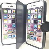 『ニコピッタン3 No.88、87、86、77、76、66』 iPhone8 or7or6対応 2個収納 ケース (黒)